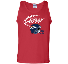 DILLY DILLY Denver Broncos NFL Team Logo Tank Top - PresentTees