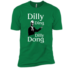 Dilly Ding Dilly Dong T Shirt Next Level Premium Short Sleeve Tee - PresentTees