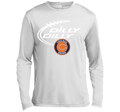 DILLY DILLY Chicago Bears shirt LS Moisture Absorbing Shirt - PresentTees