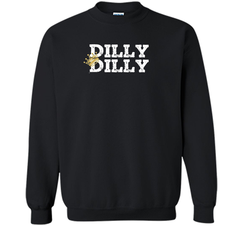 Dilly Dilly Crown Football T Shirt Black / Small Crewneck Pullover Sweatshirt 8 oz - PresentTees
