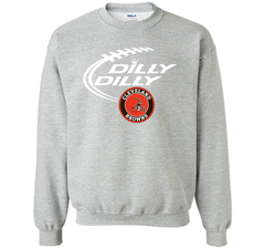 DILLY DILLY Cleverlan Browns shirt Crewneck Pullover Sweatshirt 8 oz - PresentTees