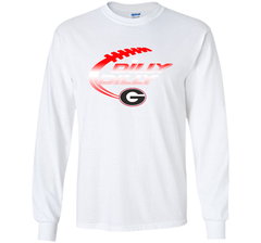 Georgia Bulldogs Dilly Dilly T-Shirt Dilly Dilly Georgia Bulldog for Football Fans LS Ultra Cotton TShirt - PresentTees