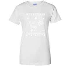 Merry Christmas UK Army T-Shirt Ladies Custom - PresentTees