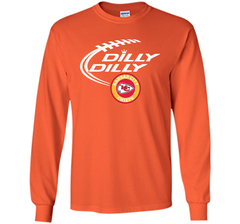 DILLY DILLY Kansas city Chiefs shirt LS Ultra Cotton TShirt - PresentTees