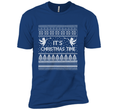 It's Christmas Time Merry Christmas T-Shirt Next Level Premium Short Sleeve Tee - PresentTees