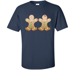 Gingerbread Christmas Cookie  Funny T-Shirt Gift Custom Ultra Cotton Tshirt - PresentTees