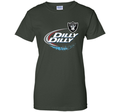 Oakland Raiders Dilly Dilly T-Shirt OAK NFL Football Gift for Fans Ladies Custom - PresentTees