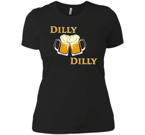 Dilly Dilly Let Make Friends T Shirt Black / Small Next Level Ladies Boyfriend Tee - PresentTees