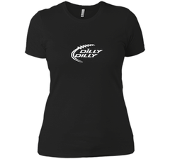 Funny Bud Light DILLY DILLY Shirt Next Level Ladies Boyfriend Tee - PresentTees