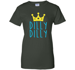 Bud Light Dilly Dilly Crown T-Shirt Ladies Custom - PresentTees