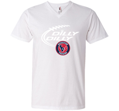 DILLY DILLY Houston Texans shirt Men Printed V-Neck Tee - PresentTees
