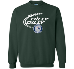 DILLY DILLY  New England Patriots shirt Crewneck Pullover Sweatshirt 8 oz - PresentTees
