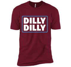 Bud Light Official Dilly Dilly T-Shirt Next Level Premium Short Sleeve Tee - PresentTees