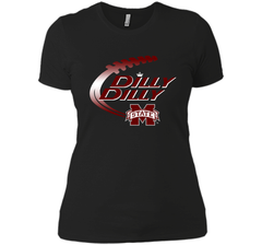 Dilly Dilly Mississippi State T-Shirt Next Level Ladies Boyfriend Tee - PresentTees