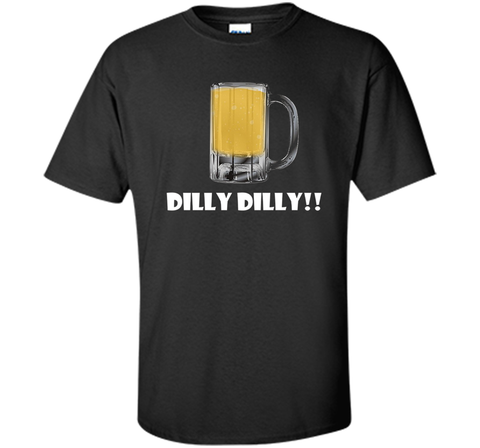 Dilly Dilly Beer Mug Alcohol Drink Stein Medieval T Shirt Black / Small Custom Ultra Cotton Tshirt - PresentTees