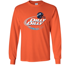 Seattle Seahawks Dilly Dilly Bud Light T Shirt SEA NFL Football LS Ultra Cotton TShirt - PresentTees