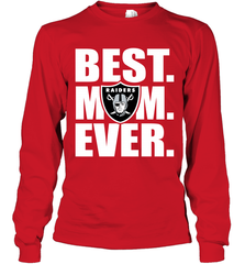 Best Oakland Raiders Mom Ever NFL Team Mother's Day Gift Long Sleeve T-Shirt Long Sleeve T-Shirt - PresentTees