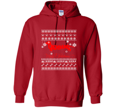 Merry Christmas Dachshund Dog Lover Gift T-Shirt Pullover Hoodie 8 oz - PresentTees