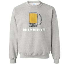 Dilly Dilly Beer Mug Alcohol Drink Stein Medieval T Shirt Crewneck Pullover Sweatshirt 8 oz - PresentTees