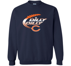 Chicago Bears Dilly Dilly T-Shirt Bud Light Christmas NFL Football Gift for Fans Crewneck Pullover Sweatshirt 8 oz - PresentTees