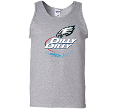 Philadelphia Eagles Dilly Dilly T-Shirt NFL Football Gift Fans Tank Top - PresentTees