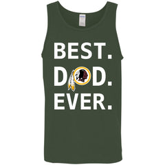 Washington Redskins Dad Best Dad Ever Fathers Day Shirt Mens Tank Top Mens Tank Top - PresentTees