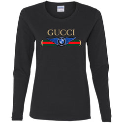 Gucci Bmw T-shirt Women Long Sleeve Shirt