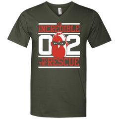 Incredibles2 Shirt - To The Rescue T Shirt Mens V-Neck T-Shirt Mens V-Neck T-Shirt - PresentTees
