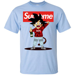 Supreme Songoku T-shirt Men Cotton T-Shirt Men Cotton T-Shirt - PresentTees