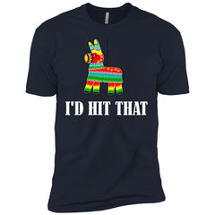 I'd Hit That Pinata T-shirt - Cinco De Mayo Pinata Shirts Mens Short Sleeve T-Shirt - PresentTees