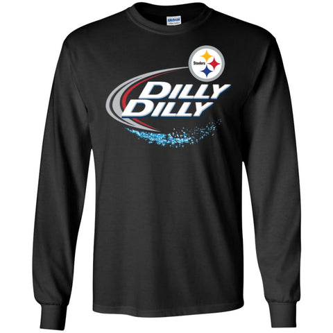 buy online 200b2 066e2 Pittsburgh Steelers Dilly Dilly Football Gift Shirt