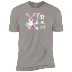Kid's Egg Hunt Squad Easter Day Youth T Shirt Boys Cotton T-Shirt - PresentTees