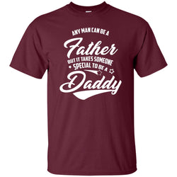 Fathers Day Gift - Someone Special To Be A Daddy Mens Cotton T-Shirt