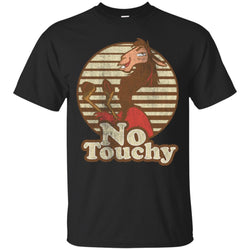 Disney Emperors New Groove Kuzco Llama No Touchy Shirt Mens Cotton T-Shirt