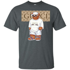 Best Life Gucci Bear T-shirt Men Cotton T-Shirt Men Cotton T-Shirt - PresentTees