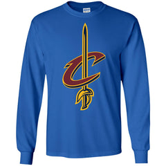 Cleveland Cavaliers Basketball Logo  Nba Mens Long Sleeve Shirt Mens Long Sleeve Shirt - PresentTees