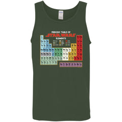 Star Wars Periodic Table Of Elements Graphic Mens Tank Top Mens Tank Top - PresentTees