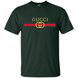 Gucci Logo Vintage Inspired Trend Men Cotton T-Shirt