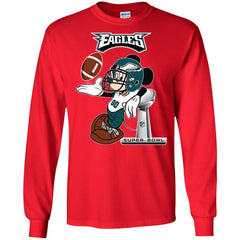 Nfl Philadelphia Eagles Mickey Mouse Super Bowl Football Men Long Sleeve  Shirt Men Long Sleeve Shirt 43e2a079b