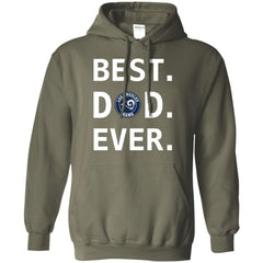 Best Los Angeles Rams Dad Ever Fathers Day Shirt Mens Pullover Hoodie Mens Pullover Hoodie - PresentTees