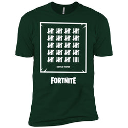 Fortnite Battle Tested T-shirt Men Short Sleeve T-Shirt
