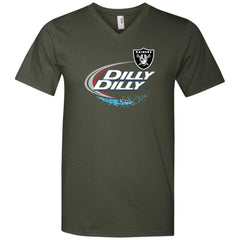 Oakland Raiders Dilly Dilly Oak Nfl Mens V-Neck T-Shirt Mens V-Neck T-Shirt - PresentTees