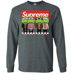 Supreme Turtle T-shirt Men Long Sleeve Shirt Men Long Sleeve Shirt - PresentTees