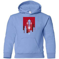 6f22226dca5 Kids Marvel Iron Man Takes Flight Youth T Shirt Youth Pullover Hoodie -  PresentTees