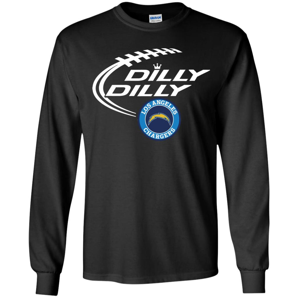 sports shoes 69fe2 c6803 Dilly Dilly Los Angeles Chargers Nfl Shirt For Men Women Kid