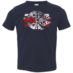 Star Wars Millennium Falcon Basics Toddler Jersey T-Shirt
