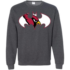 82bd01c4 We Are The Arizona Cardinals Batman Nfl Mashup Crewneck Pullover Sweatshirt