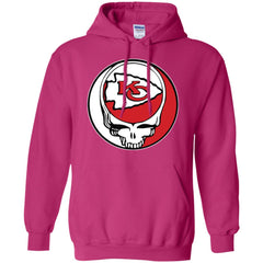 56f6086f Kansas City Chiefs Grateful Dead Steal Your Face Football Nfl Shirts Pullover  Hoodie Sweatshirt Pullover Hoodie