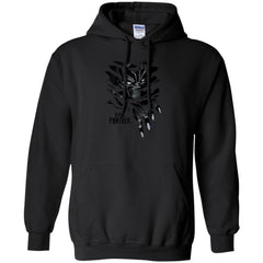 Marvel Black Panther Breaks Through T Shirt Pullover Hoodie 8 oz - PresentTees
