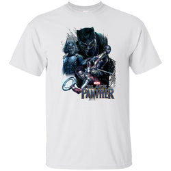 Marvel Black Panther Movie Okoye Nakia Group T-shirt